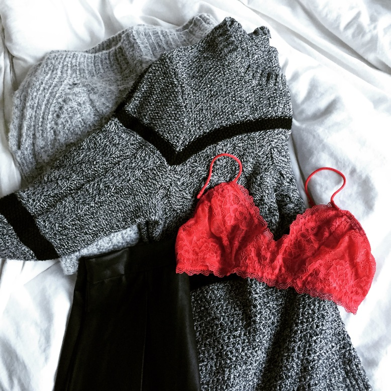 Essentials from Nasty Gal + Madewell.